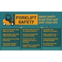 Forklift Safety Poster (#PST111)