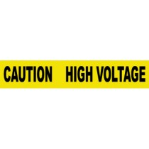 Caution High Voltage Barricade Tape (#PT11)