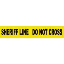 Sheriff Line Do Not Cross Barricade Tape (#PT12)