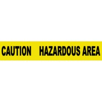 Caution Hazardous Area Barricade Tape (#PT32)