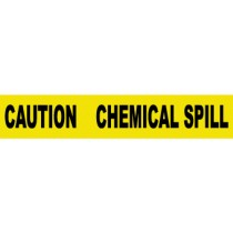 Caution Chemical Spill Barricade Tape (#PT42)