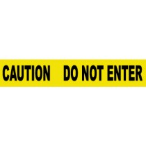 Caution Do Not Enter Barricade Tape (#PT9)