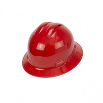 Radians Quartz™ Vented Full Brim Hard Hat (#QHR4V-RED)