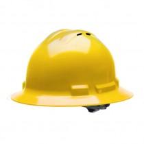 Radians Quartz™ Vented Full Brim Hard Hat (#QHR4V-YELLOW)