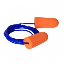 Resistor™ 32 Disposable Foam Earplugs, corded (#FP71)