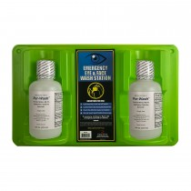 Radians® Personal Eyewash Station, double 16oz. bottles (#REW16D)