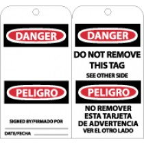 Danger Bilingual Tag (#RPT109)