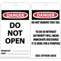 Danger Do Not Open Tag (#RPT19)