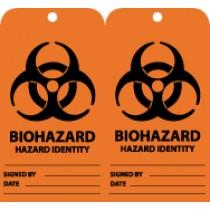 Biohazard Hazard Identity Tag (#RPT54)