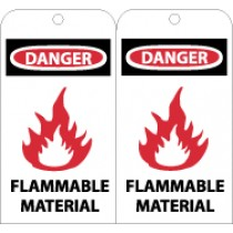 Danger Flammable Material Tag (#RPT71)