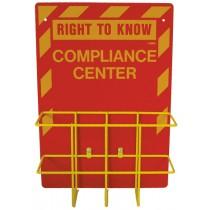 Right-To-Know Center & Binder Holder (#RTK3)