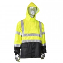 Radians 35mm High Visibility Rain Jacket (#RW07J-3ZGV)
