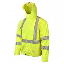 Radians® Lightweight Waterproof Rain Jacket (#RW11-3ZGR)