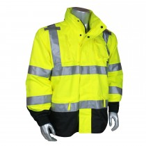 Radians Heavy Duty Rip Stop Waterproof Rain Jacket (#RW32-3Z1Y)