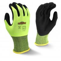 Radians Silver Series Hi-Viz Knit Dip Glove (#RWG10)
