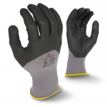 Radians 3/4 Foam Dipped Dotted Nitrile Glove (#RWG12)