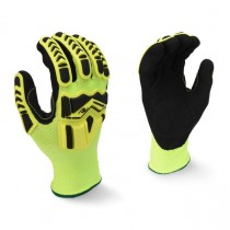 Radians High Visibility Work Glove with TPR and Padded Palm (#RWG23)