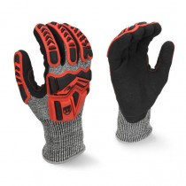 Radians Cut Protection Level A5 Work Glove with Padded Palm (#RWG609)