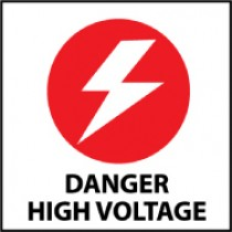 Danger High Voltage Safety Label (#S11AP)