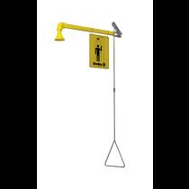 Horizontal Supply – Barrier Free, Impact Resistant Plastic Showerhead (#S19-120BF)