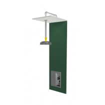 Barrier Free Recess-Mounted Drench Shower with Recessed Handle and Extended Showerhead (#S19-125BF)