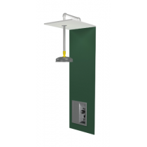 Barrier Free Recess-Mounted Drench Shower with Recessed Handle and Flush-Mounted Showerhead (#S19-125FMBF)