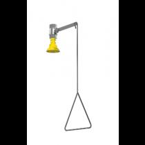 Vertical Supply, Impact Resistant Plastic Showerhead (#S19-130)