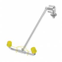 Deck-Mounted Barrier Free Swing Down Classic Eyewash (#S19-280D)