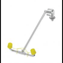 Wall-Mounted Barrier Free Swing Down Classic Eyewash (#S19-280W)