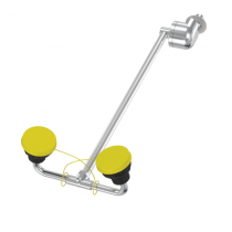 Deck Mounted Barrier Free Swing-Down Eye/Face Wash (#S19-290D)