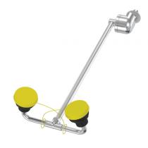 Wall-Mounted Barrier Free Swing-Down Eye/Face Wash (#S19-290W)