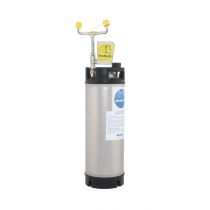 5 Gallon Portable Pressurized Face Wash Unit with Eyewash Only (#S19-671)