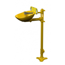 Pedestal-Mount Halo Eyewash, Plastic Bowl (#S19214EW)