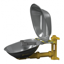 Halo Eyewash, Stainless Steel Bowl & Dust Cover (#S19224DC)
