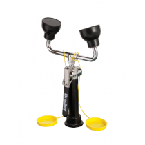 Deck-Mounted Hand-Held Hose Spray with Dual Angled Sprayheads (#S19-465EFW)