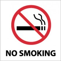 No Smoking Safety Label (#S1AP)