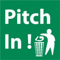 Pitch In! Sign (#S47)