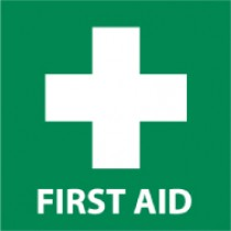 First Aid Safety Label (#S53AP)