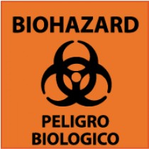 Biohazard Spanish Sign (#S91)