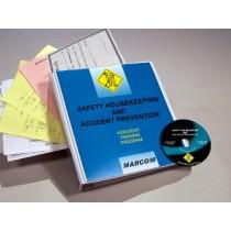 Safety Housekeeping and Accident Investigation Prevention DVD Program (#V0002789EM)