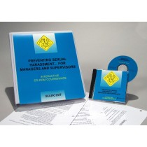 Preventing Sexual Harassment for Managers and Supervisors Interactive CD (#C0002960ED)