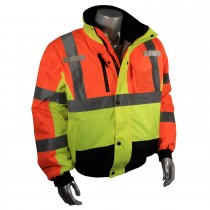 Radians Class 3 Weather Proof Multi-Color Bomber Jacket (#SJ12-3ZMS)