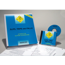 Slips, Trips, and Falls in Construction Environments Interactive CD (#C0003330ED)