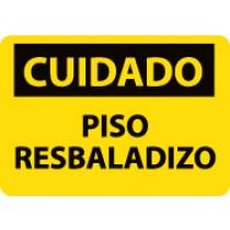Cuidado Piso Resbaladizo Sign (#SPC366)