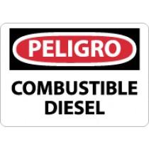 Peligro Combustible Diesel Sign (#SPD427)