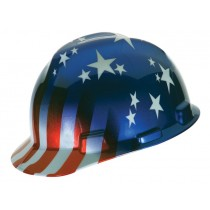 MSA American Stars and Stripes V-Gard Protective Cap (#10052945)