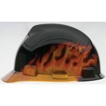 MSA Black Fire V-Gard Protective Cap (#10092015)