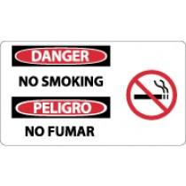 Danger No Smoking Spanish Sign (#SPSA106)