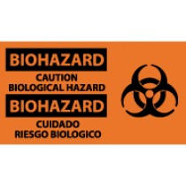 Biohazard Caution Biological Hazard Spanish Sign (#SPSA52)