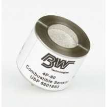 Replacement Combustible (% LEL) Sensor without Heavy Duty Silicone Filter (#SR-W04-UF)